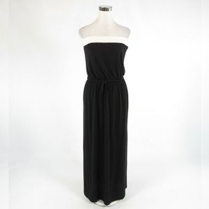Black & White J. CREW Stretch Maxi Dress S